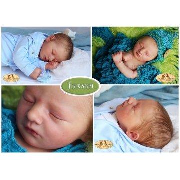Kit Jaxson dormindo 18''