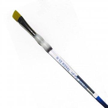 Pincel Chato Soft-Grip N°12 Royal